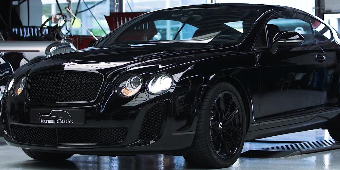 Bentley GT Onderhoud